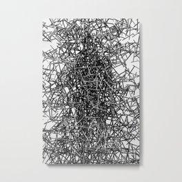 Twisted Metal Metal Print