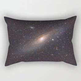 The Andromeda Galaxy Rectangular Pillow