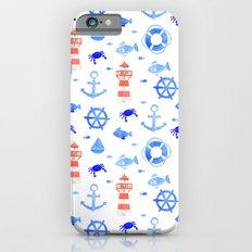 Marin pattern Slim Case iPhone 6s