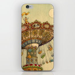 Swing Ride iPhone Skin