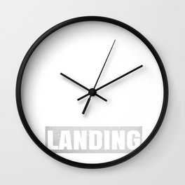 Pilot I'm Not In The Mood For Talking - Pilots Retirement product Wall Clock