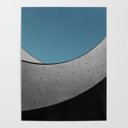 Hyogo Prefectural Museum of Art by Tadao Ando Poster