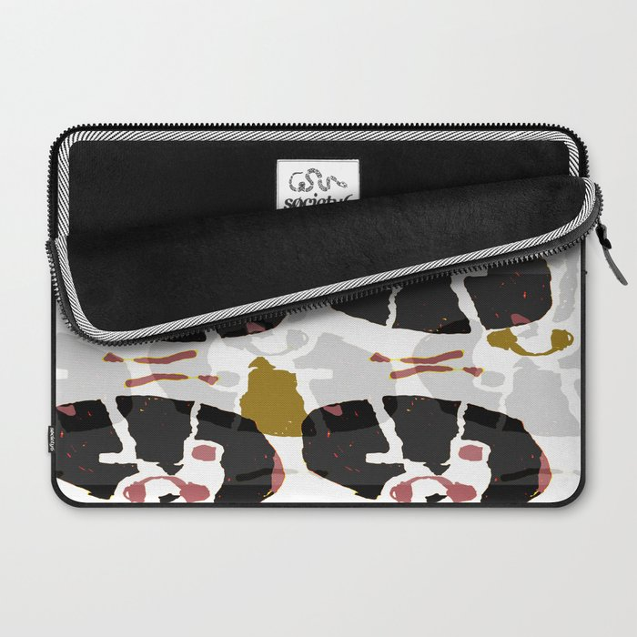Abstract Mechanical Laptop Sleeve