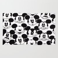 mickey Area & Throw Rugs featuring MICKEY MOUSE by Acus