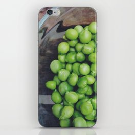 Bowl of Peas iPhone Skin