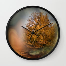 the summer went by Wall Clock