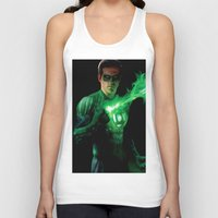green lantern Tank Tops featuring Green Lantern by Styleman D