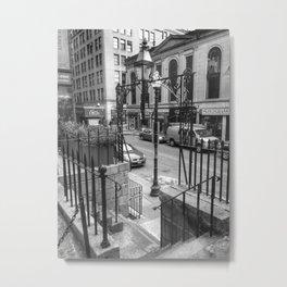 Province Steps Metal Print