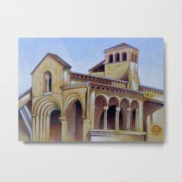 Postcard from Iglesia de la Trinidad, Segovia, Spain Metal Print
