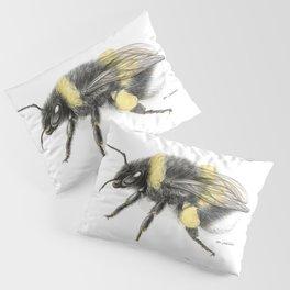 White-tailed bumblebee Pillow Sham