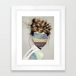 Haircut 1 Framed Art Print