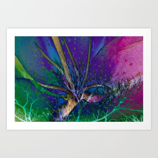 Fairy Forest Art Print