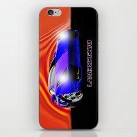 lamborghini iPhone & iPod Skins featuring Lamborghini Gallardo (2) by JT Digital Art