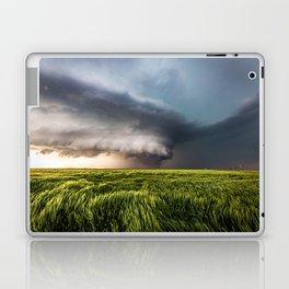 Leoti's Masterpiece - Incredible Storm in Western Kansas Laptop & iPad Skin