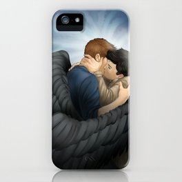 A kiss of Grace iPhone Case