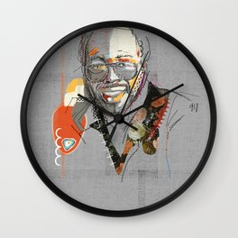 Curtis mayfield Wall Clock