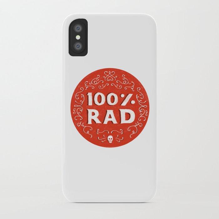 100% Rad iPhone Case