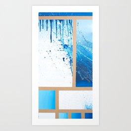 Freedie My Freeloader  Art Print