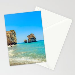 Cyprus Beach Scene Stationery Cards