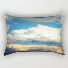 Beauteous May Sky Rectangular Pillow