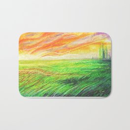 Radioactive Oz Bath Mat