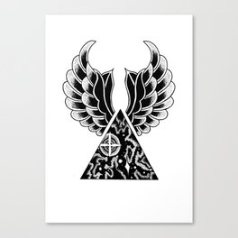 universal wings Canvas Print