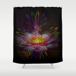 Abstract in perfection 95 Shower Curtain