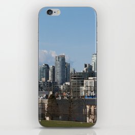 View of Downtown Vancouver iPhone Skin