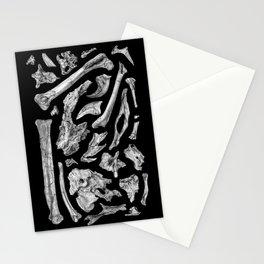 dinosaur anzu skeleton bones Stationery Cards
