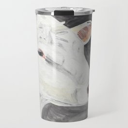 White Cow Travel Mug