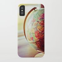 globe iPhone & iPod Cases featuring Globe  by Jo Bekah Photography
