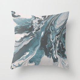 Teal (soul mate) Throw Pillow