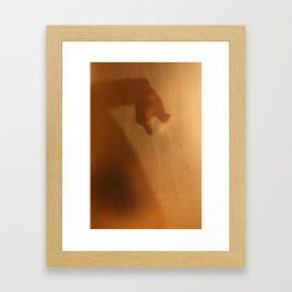 'Untitled 8' - Body language series. Framed Art Print