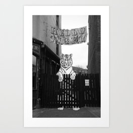Hello Tiger Art Print