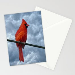 A Bird On A Wire. Stationery Cards
