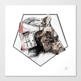 03_Baloo Canvas Print
