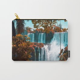 Paradise of Waterfalls (Color) Carry-All Pouch