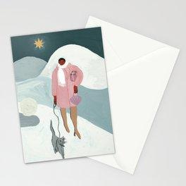 A Christmas Walk Stationery Cards
