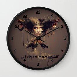 I am the Mockingjay Wall Clock