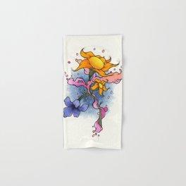 Copic Flowers Hand & Bath Towel
