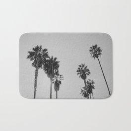 PALM TREES / Venice Beach, California Bath Mat