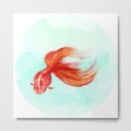 Lil Goldfish Metal Print