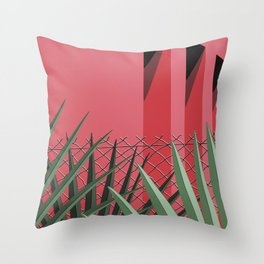 In Tropics Throw Pillow