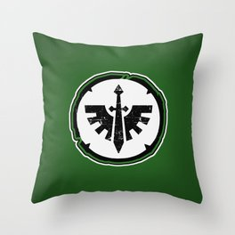 Dark Angels Chapter Badge Throw Pillow