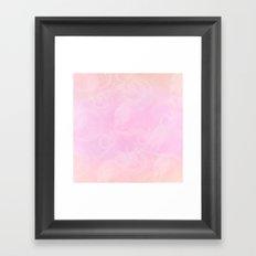 Candy Floss Framed Art Print