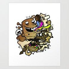 Anacleto! Art Print