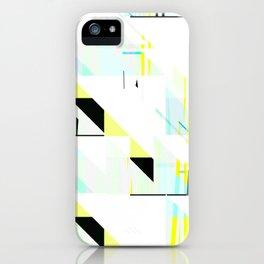 black&neon / triangle iPhone Case