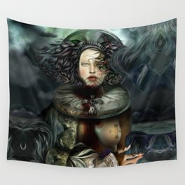 """""""Returning from a Dream Myth Creature"""" Wall Tapestry"""