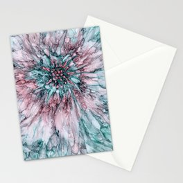Meditative Teal Stationery Cards