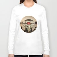 samurai Long Sleeve T-shirts featuring samurai by Rosa Picnic